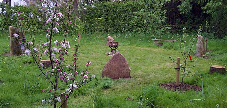 Garden Stone Circles Build your own stonehenge stone circles for garden and landscape surrey small garden stone circle workwithnaturefo